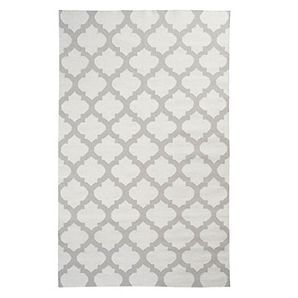 Casablanca Dhurrie Rug - Steel | Area-rugs | Panels-and-rugs | Z Gallerie