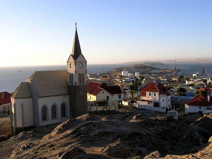 Luderitz,Stadt mit Felsenkirche - Evangelisch-Lutherische Kirche in Namibia (DELK) – Wikipedia