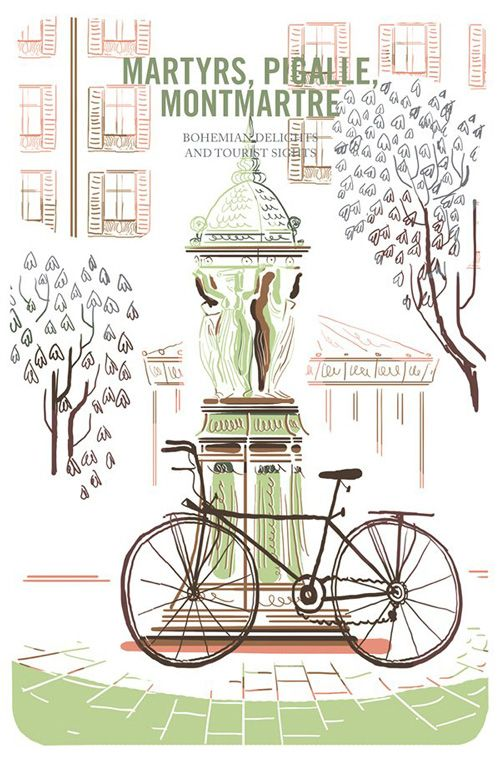 An Illustrated Field Guide To Biking In 8 Major European Cities