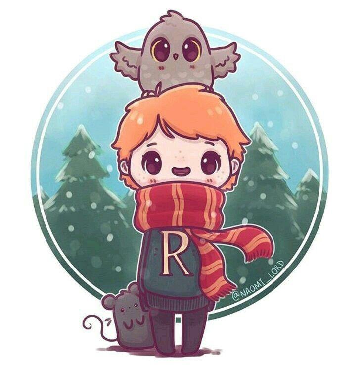 Inspiration Ron Weasley Dessin Harry Potter Kawaii ...
