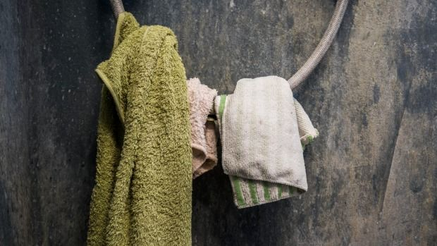Old towels are not chic. Move them to the rag drawer at the first sign of fraying.