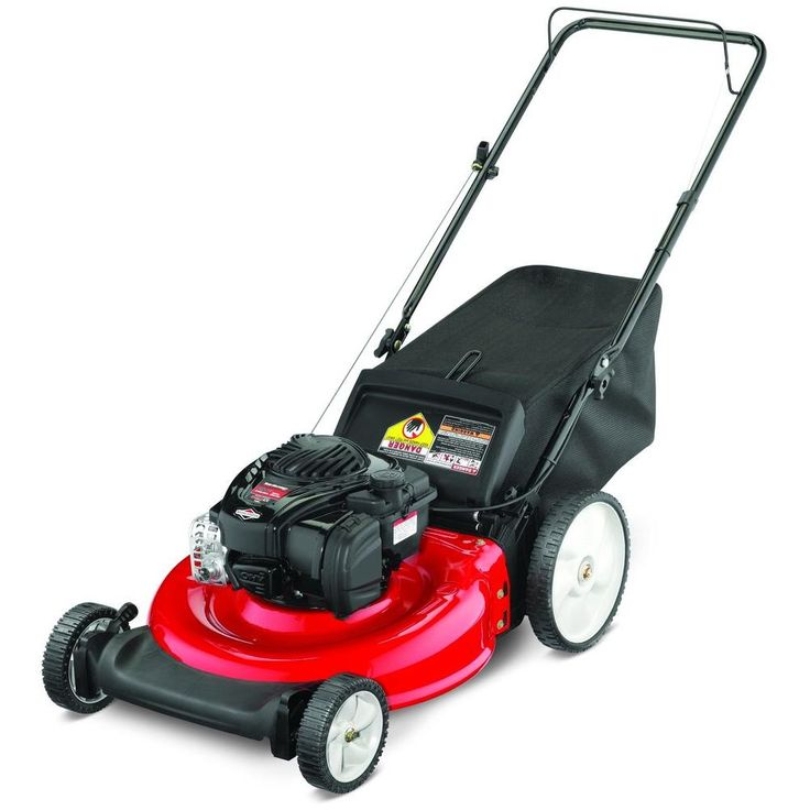 Yard Machines 21 in. 140cc OHV Briggs & Stratton Walk-Behind Gas Lawn Mower-11A-B1BE729 - The Home Depot