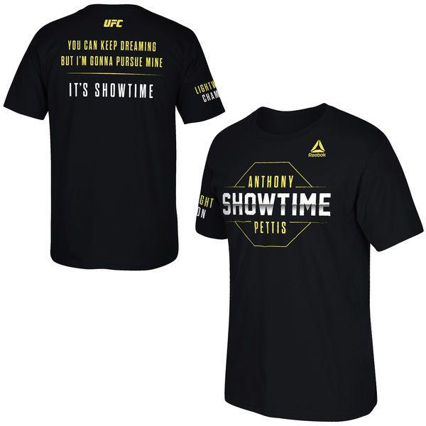 Anthony Pettis UFC 185 Reebok Walkout T-Shirt - Black - $31.99
