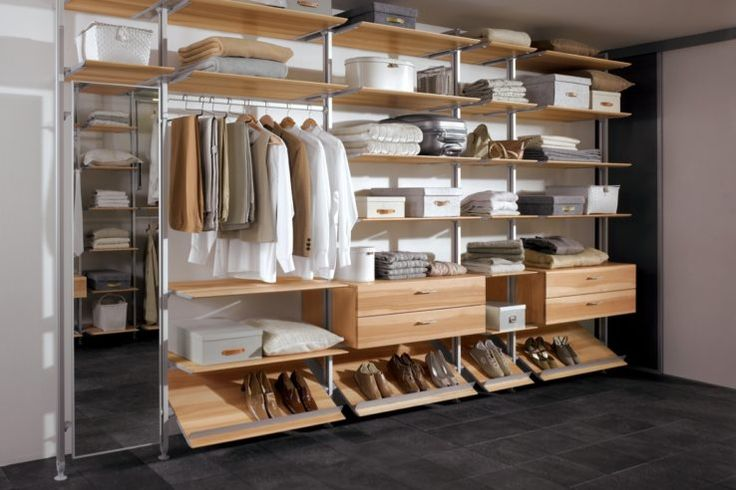 The System Duo walk-in wardrobe system allows you to create a furniture layout to suit a wide variety of different applications, that will fit with either…