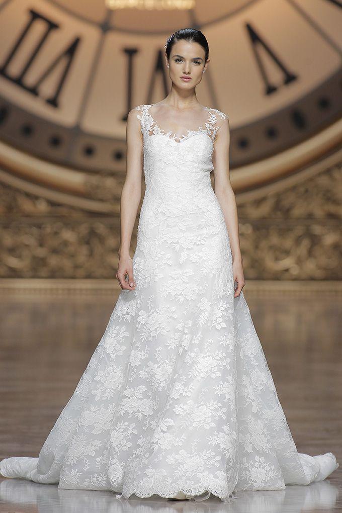 Lovely Valeska style French Lace u Tulle Atelier Pronovias Atelier PronoviasWedding OutfitsWedding