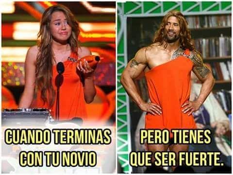 Humor Gráfico Memes en español tumblr: Tienes que ser fuerte