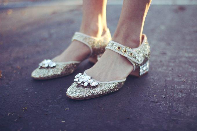 That's Chic in Miu Miu shoes