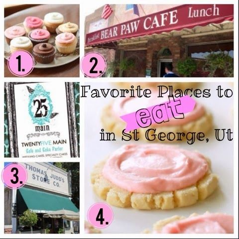 BrittsFavThings: Eateries in St George Utah