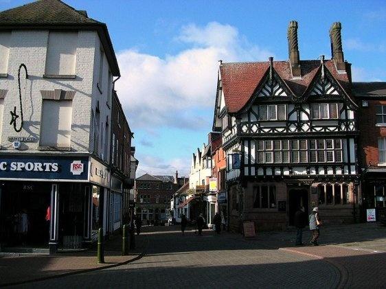 Leek, Staffordshire, England.