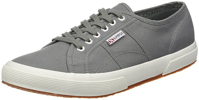 e662077449b23e Superga Unisex 2750 Cotu Grey Sage Classic Sneaker - 39 M EU   8.5 B(M) US  Women   7 D(M) US Men