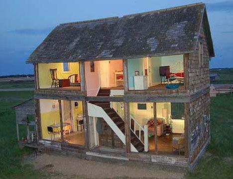 heather benning life size doll house