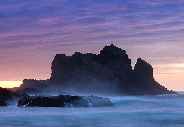 Playa de Gueirúa, Cudillero, Asturias (Spain), or mostly anywhere in Spain. <3