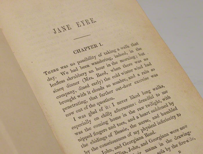 essays on jane eyre by charlotte bronte Charlotte brontë's jane eyre opens with jane, an orphaned, isolated ten-year-old, living with a family that dislikes her she grows in strength, excels at.