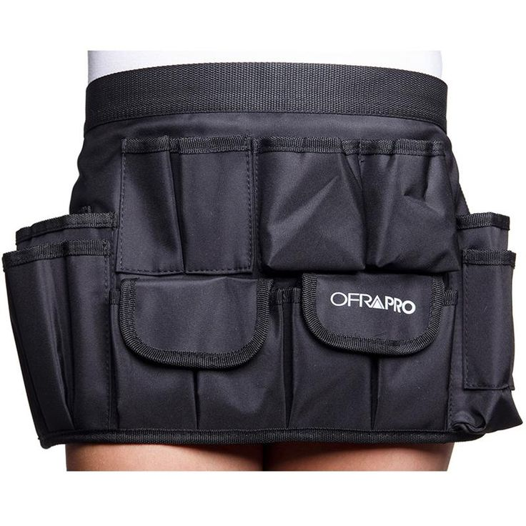 OFRA Pro Brush Belt is the ideal solution for every makeup artist. Keep all your brushes right where you need them. Made of an easy-to-clean durable synthetic polyester material. There are interior po