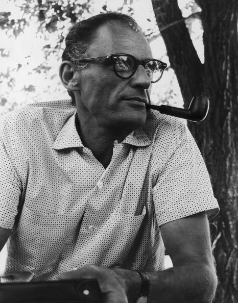 arthur miller american playwright essayist Famous for his plays like 'all of my sons', 'death of a salesman', pulitzer prize winner, arthur miller was an american playwright and essayist.