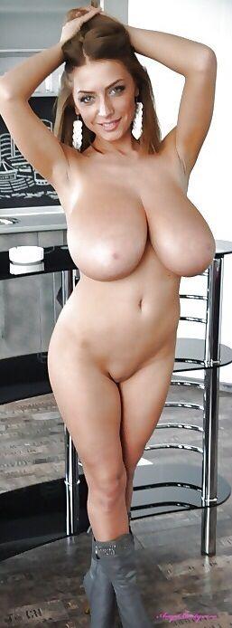 big breast exotic natural