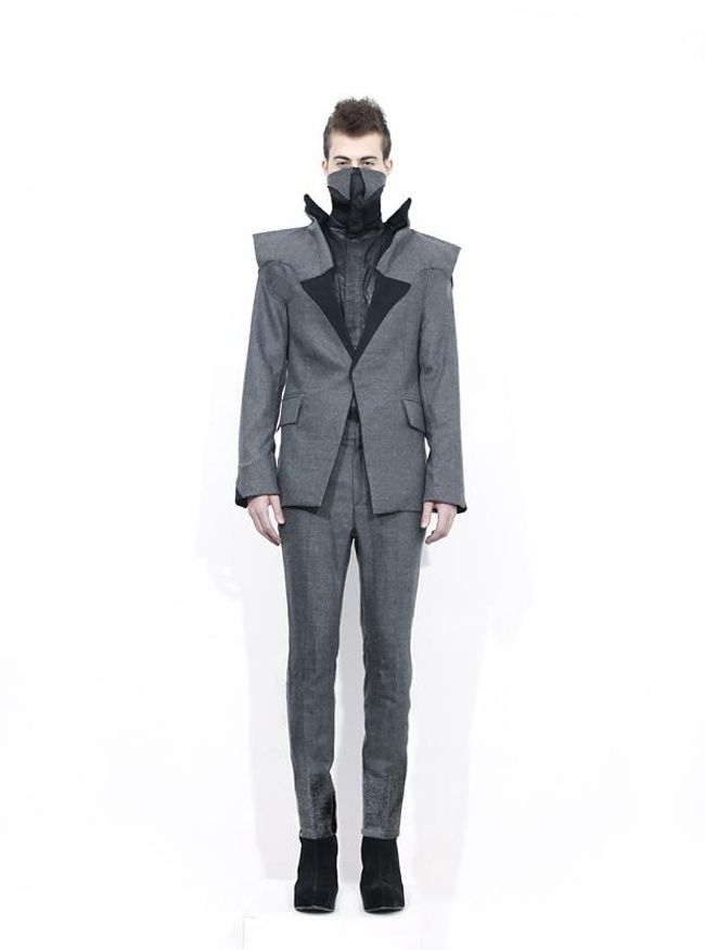 "AW 2013 Collection ""Anonimous"" by Long Tran, seducer incognito"