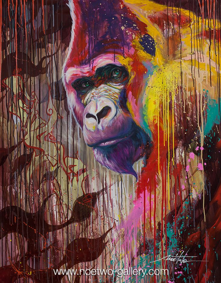 Noe Two graffiti and street artist from Paris GORILLAZ 2.0