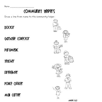 Community Helpers Activity Sheets Community Helpers Community Helpers Kindergarten Community Helpers Worksheets