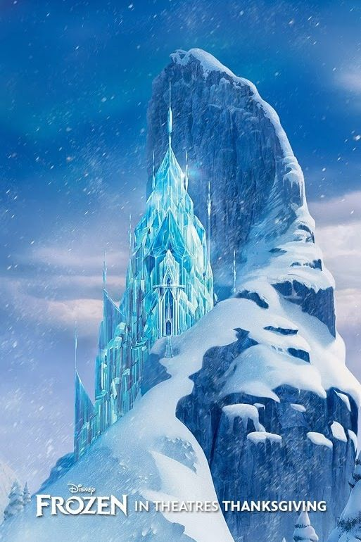 Elsa S Ice Castle Very Cool Hj Stuff Pinterest