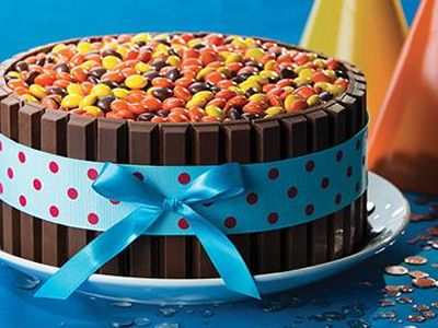 KIT KAT Birthday Cake printable recipe