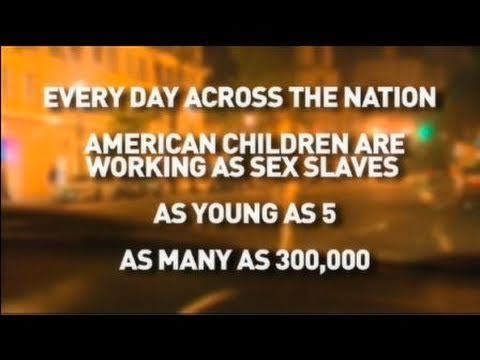 I'M A VICTIM NOT A CRIMINAL: CHILD SEX SLAVERY IN THE USA
