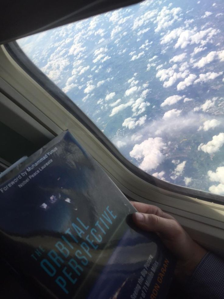 How high do you have to go for an Orbital Perspective? I recommend @Astro_Ron's book at any altitude! #TheKeyIsWe