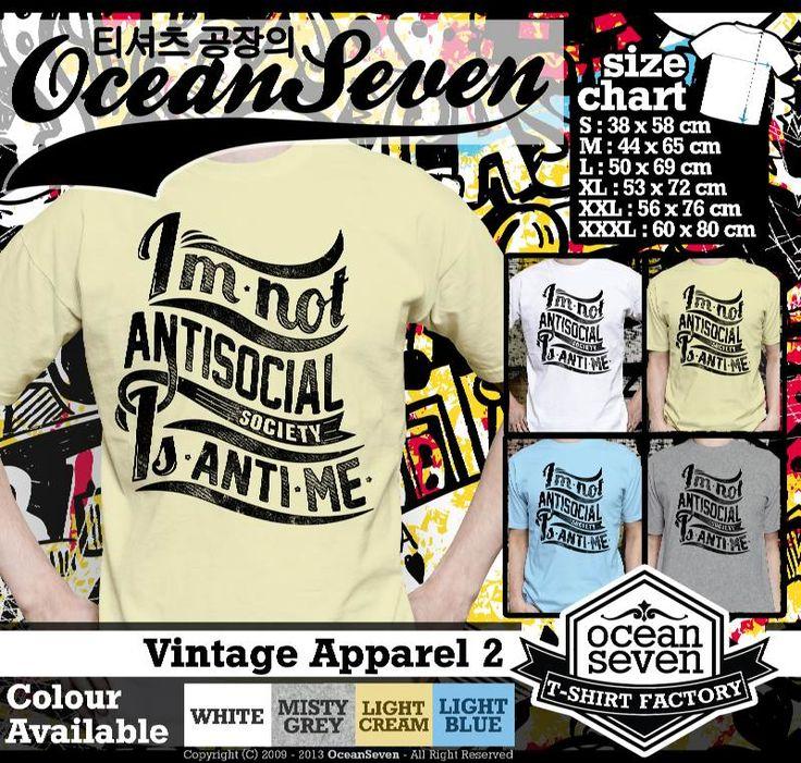 ourkios  - Tulisan Unik Vintage T- Shirt  - kaos  Tulisan Unik Vintage