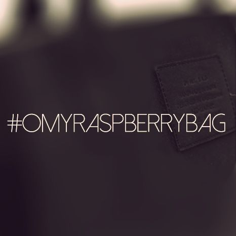 Wanna know more about #OMYRASPBERRYBAG? Come see us at the Modefabriek this sunday or monday!
