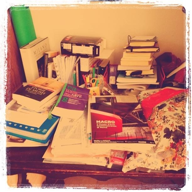 Sempre il mio tavolo...