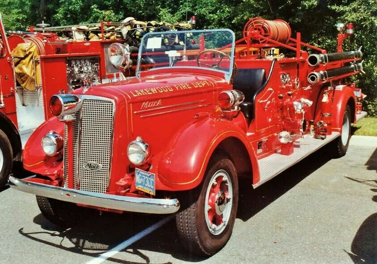 Mack From The 1930 S Era Fire Trucks Vintage Amp Awesome