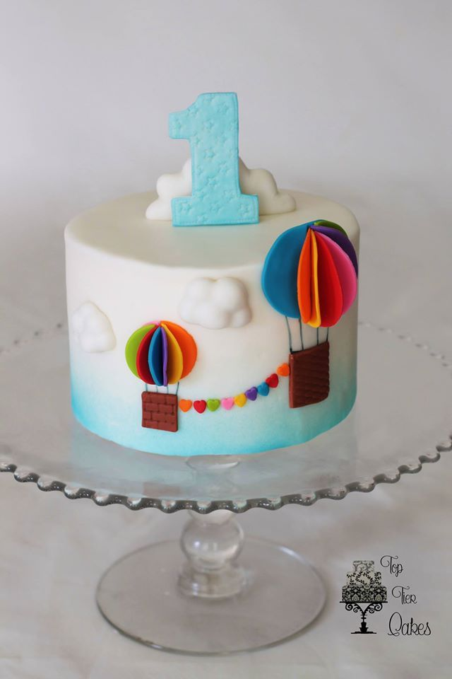 479 best images about Hot Air Balloon Cakes on Pinterest ...