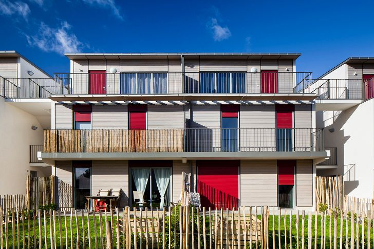 Sustainable & Flexible Housing in Nantes Caters to Families of All Sizes
