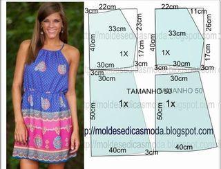 BLUSA FÁCIL DE FAZER - 3 | Moldes Moda por Medida | Bloglovin'