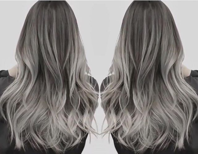 17 Best Ideas About Grey Ombre Hair On Pinterest