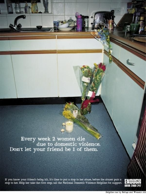 British Campaign Against Domestic Violence / Violencia De Género