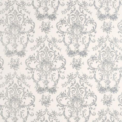 Laura Ashley | Aston Silver Wallpaper #lauraashleyhome