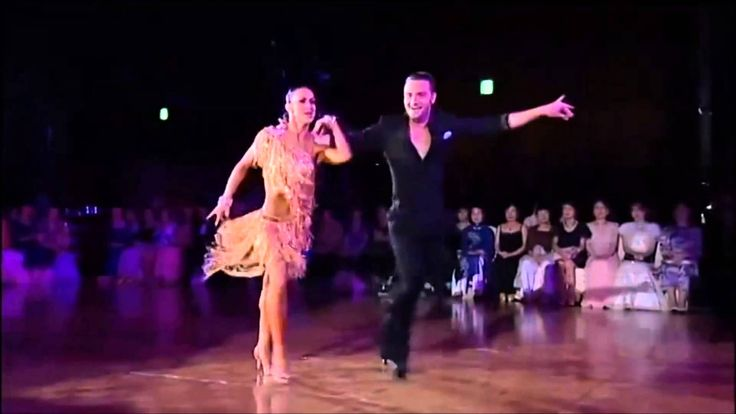 These dancers are inspiring. Music by Michael Buble-Sway.
