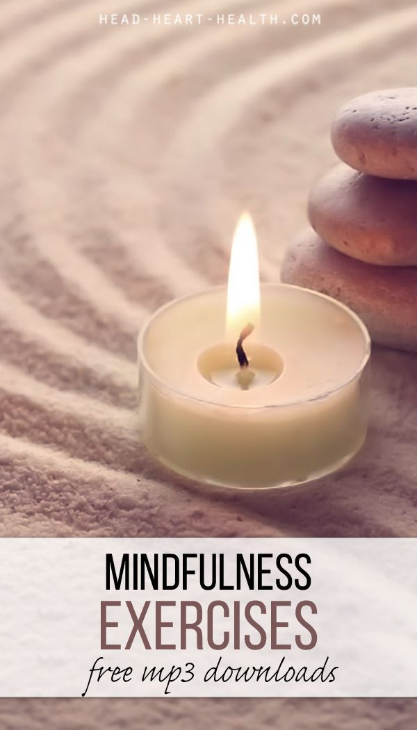 Six MP3 mindfulness meditation exercises to download for FREE >> http://head-heart-health.com/5429/mindfulness-meditation-mp3
