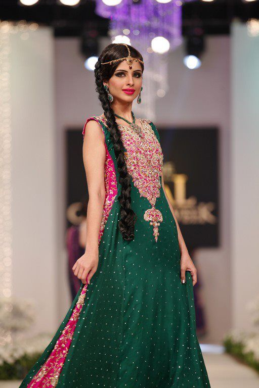 Pakistani fashion show