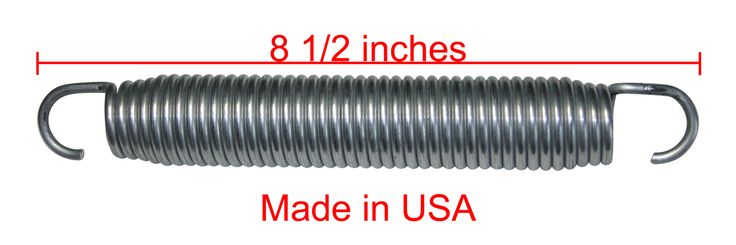 "8 1/2"" *Ultra-grade* Trampoline Replacement Springs - Quantity: 22-Pack by Trampoline Part Store"