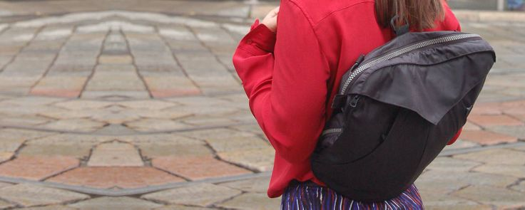 gh24 backpack. #bag #backpack #jacket #multifunctional #products #design #urban #lifestyle #gh24 #giacca24