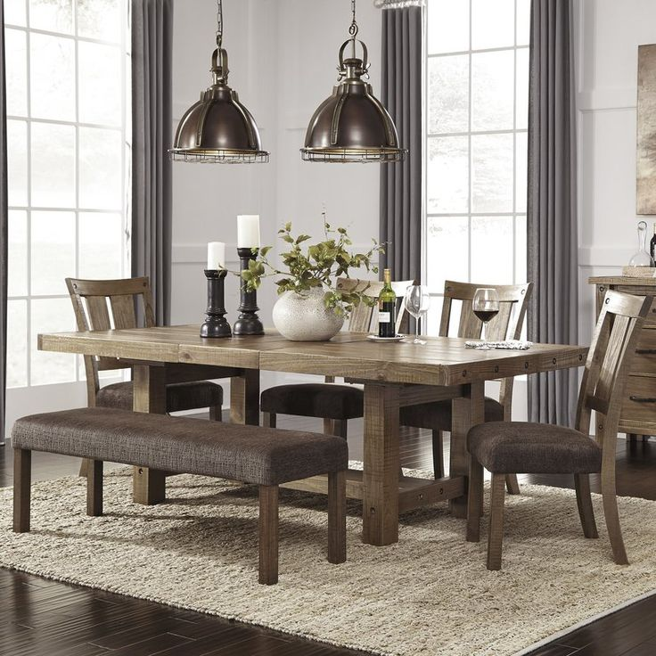 Etolin 6 Piece Extendable Dining Set Dining Room Ideaas