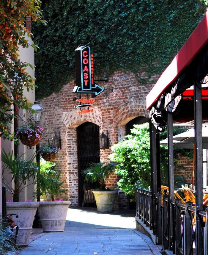 9 Amazing Hidden South Carolina Restaurants And Where To Find Them  1. Coast Bar and Grill - 39 John Street, Charleston, SC 29403......