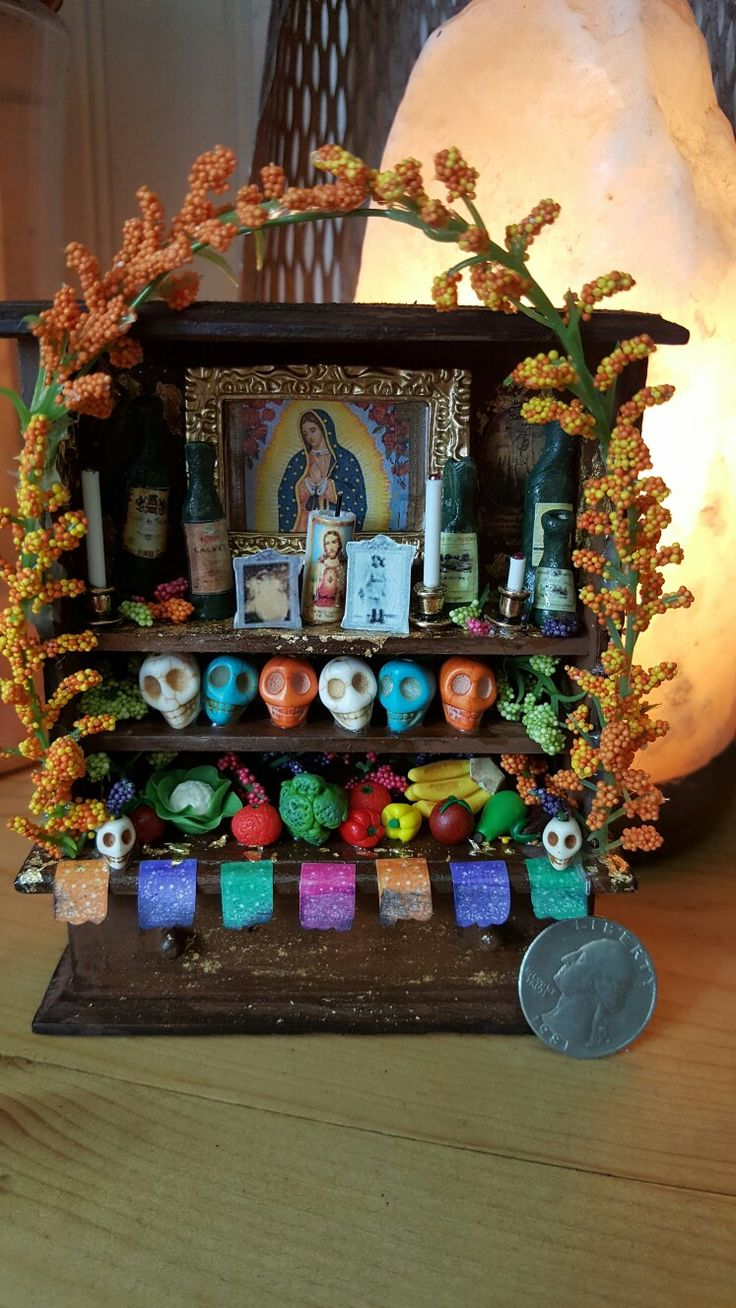 Miniature Day of the Dead Altar                                                                                                                                                                                 More
