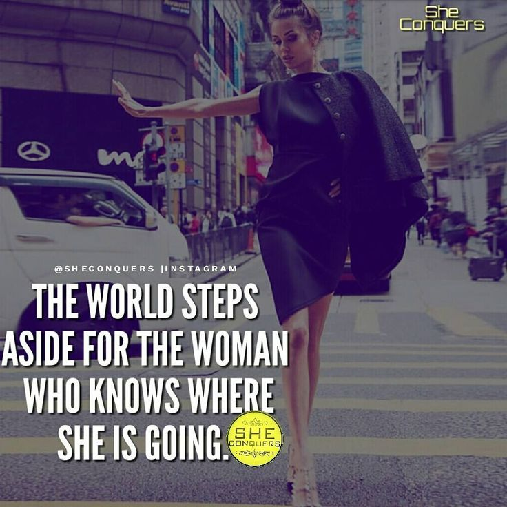 You can't stop someone who knows where they are going step aside ✋ #bosslady