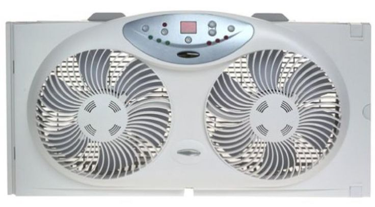 Bionaire Twin Reversible Airflow Window Fan with Remote Control  #Bionaire
