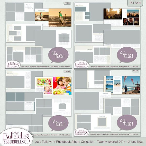 Photobook Templates ideas