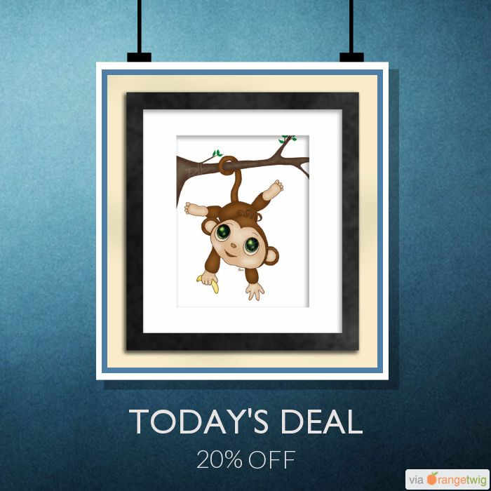 Today Only! 20% OFF this item.  Follow us on Pinterest to be the first to see our exciting Daily Deals. Today's Product: Sale -  Monkey Art Print Buy now: https://small.bz/AAf3MNm #etsy #etsyseller #etsyshop #etsylove #etsyfinds #etsygifts #musthave #loveit #instacool #shop #shopping #onlineshopping #instashop #instagood #instafollow #photooftheday #picoftheday #love #OTstores #smallbiz #sale #dailydeal #dealoftheday #todayonly #instadaily #instasale