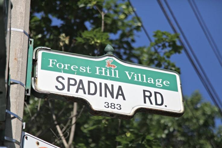 Spadina Rd #foresthill #neighborhoods